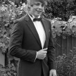 Stock Photo: Teenager in prom suit