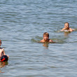 Teenagers in the sea — Stock Photo #11925015