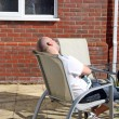 Man resting in the sun — Stock Photo #11925701