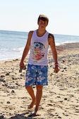 Adolescente junto al mar — Foto de Stock