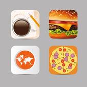 Application icon — Stock Vector