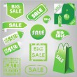 Sale labels — Stock Vector #11556003