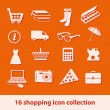 Shopping icons — Stock Vector #11679661