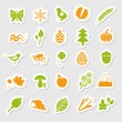 Nature stickers — Stock Vector #11679663