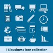 Business icons — Stock Vector #12019842