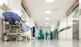 Corredor de cirurgia do hospital — Foto Stock