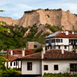 Old houses Melnik, Bulgaria — Stock Photo