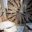 Tunnel boring machine — Stock Photo