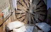 Tunnel boring machine — Stock Photo