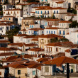View of vilage in Poros island, Greece — Stock Photo