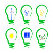 Stock Vector: Concept, symbolizing alternative energy