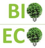 Concept, symbolizing green energy — Stock Photo