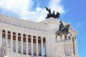 Monument Vittorio Emanuele II in Roma — Stock Photo