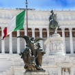 Monument Vittorio Emanuele II in Roma — Stock Photo #11656914