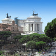 Monument Vittorio Emanuele II in Roma - Stock Photo