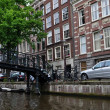 Amsterdam.Canals.View of Amsterdam. — Stock Photo #11328802
