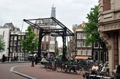 View of Amsterdam.Holland. — Stock Photo