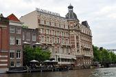 Vista de amsterdam.holland. — Foto de Stock