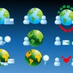 Web and internet icon vector illustration — Stock Photo