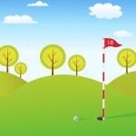 Golf background — Stock Photo #12199044