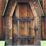 木製ドア — ストック写真