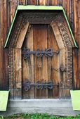 La porte en bois — Photo