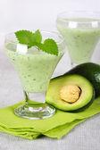 Avocado smoothie — Stock Photo
