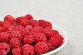 Ripe raspberries — Stock fotografie