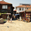 Souvenir shops in Nessebar — Stock Photo #11978369