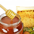 Royalty-Free Stock Photo: Pot of honey