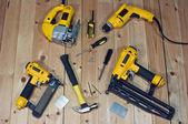 Assorted tools — Stockfoto