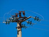 Power lines — Stock Photo