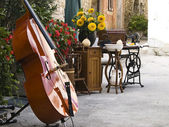 Old Cello — Stock Photo