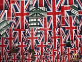 UK Flags — Stock Photo