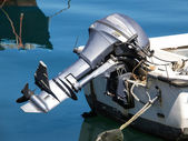 Outboard engine — Stock Photo