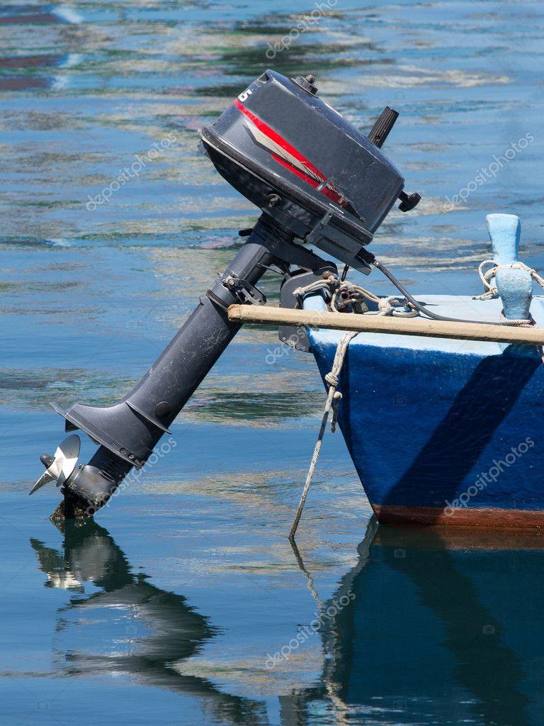 лодочный мотор с воздушным винтом