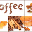 Coffee collage — Stock Photo #10797460