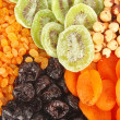 Dried fruits background — Stock Photo #11137807