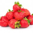 Handful of strawberries - Stock Photo