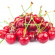 Handful of cherries - Stock Photo