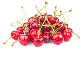 Handful of cherries — Stock Photo