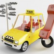 Taxi car - Stock Photo
