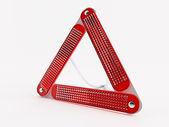 Triangolo d'avvertimento — Foto Stock