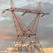 Stock Photo: Eletricity tower providing energy distribution