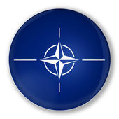 Badge of North Atlantic Treaty Organization — Stock Photo