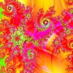 Постер, плакат: Fractals swirls spirals