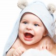 Mother holding baby — Stock Photo #11526030