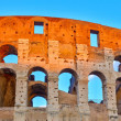 Colosseum at sunset — Stock Photo #11608338