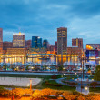 Baltimore at night — Stock Photo #11609044
