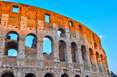 Colosseo al tramonto — Foto Stock